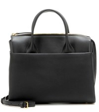 Marni Bowling Leather Tote Black