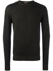 Etro Crew Neck Sweater Green