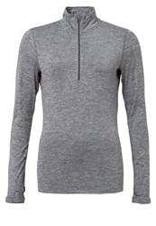 Nike Performance Element Sports Shirt Dark Grey Heather Reflective Silver Dark Gray