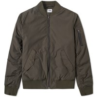 Edwin Flight Jacket Green