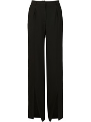 Off White Wide Leg Trousers Black