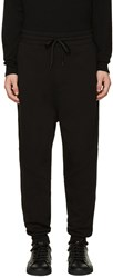 Ami Alexandre Mattiussi Black Fleece Lounge Pants