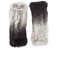 Eugenia Kim Women's Fur Elodie Fingerless Gloves Grey
