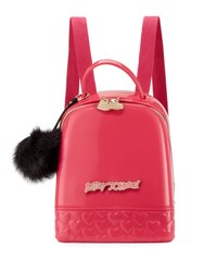 B By Brian Atwood July Hardcover Backpack Fuschia