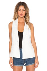 Lovers Friends Shadow Vest Ivory