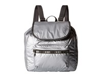 Le Sport Sac Small Edie Backpack Full Moon Lightning Backpack Bags Gray