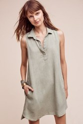 Anthropologie Berges Tunic Moss