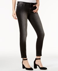 Tommy Hilfiger Embellished Black Wash Skinny Jeans Only At Macy's Washed Black