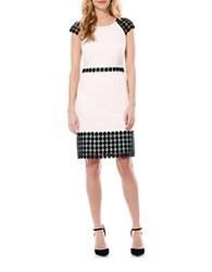 Laundry By Shelli Segal Lace Detailed A Line Dress Warm White