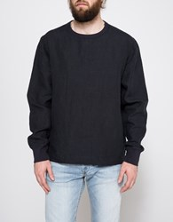 Our Legacy Anthracite Linen Sp Pullover