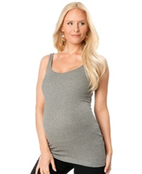 A Pea In The Pod Ribbed Maternity Tank Top