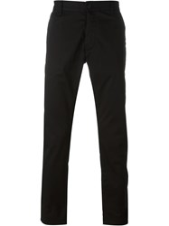 Armani Jeans Slim Fit Trousers Black