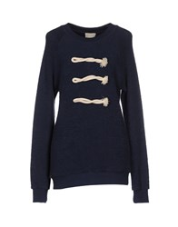 Band Of Outsiders Topwear Sweatshirts Women Dark Blue
