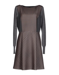 Thomas Rath Short Dresses Grey