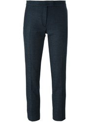 Joseph Slim Fit Cropped Trousers Grey