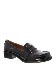 Nina Mystique Patent Leather Loafers Black