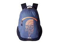 The North Face Haystack Coastal Fjord Blue Feather Orange Backpack Bags