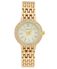 Charter Club Women's Gold Tone Bracelet Watch 24Mm Only At Macy's