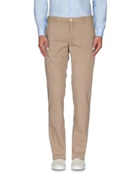 Manuel Ritz White Trousers Casual Trousers Men Khaki