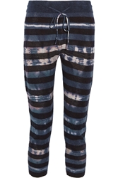 Raquel Allegra Tie Dyed Merino Wool And Cashmere Blend Leggings
