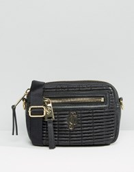Juicy Couture Convertible Cross Body And Bumbag Pitch Black