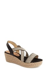 Women's Patricia Green 'Erica' Platform Wedge Sandal Natural