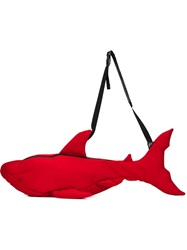 Christopher Raeburn Shark Shaped Bag Red