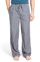Nordstrom Men's Men's Shop Woven Lounge Pants Navy Grey Gingham
