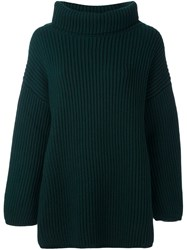 Stefano Mortari Oversized Jumper Green