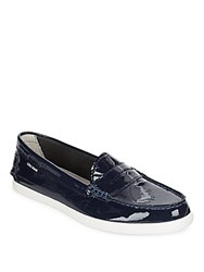 Cole Haan Pinch Patent Leather Loafers Peacoat