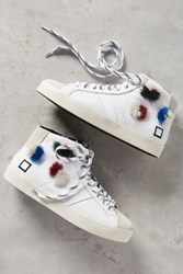 Anthropologie D.A.T.E. Hill High Pop Sneakers White