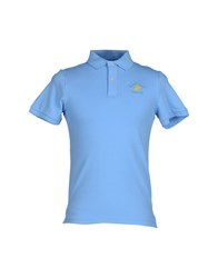 Beverly Hills Polo Club Topwear Polo Shirts Men Azure