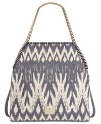 Inc International Concepts Kadi Denim Ikat Tote Only At Macy's