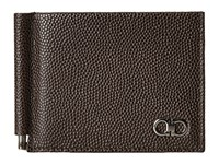 Salvatore Ferragamo Ten Forty One Bifold With Clip 669788 Chocolate