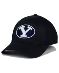 Zephyr Brigham Young Cougars Punisher Stretch Hat Black Navy