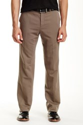 John Varvatos Slim Fit Pant Brown