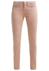 Opus Elma Slim Fit Jeans Peach Melba Salmon