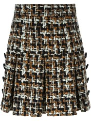 Dolce And Gabbana Boucle Knit Skirt Multicolour