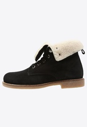 Kmb Clive Laceup Boots Negro Taupe Black
