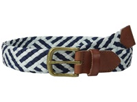 Scotch And Soda Colorful Braided Belt Blue Men's Belts
