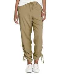 Lauren Ralph Lauren Skinny Fit Drawstring Pants Cobra