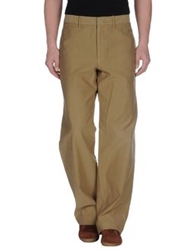 Boss Orange Casual Pants Khaki