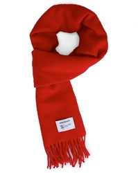 Norse Projects Red Lambswool Scarf