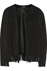 Finds Theperfext April Fringed Suede Jacket