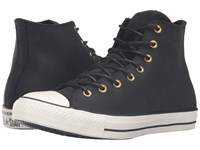 Converse Chuck Taylor All Star Leather Corduroy Hi Black Egret Black Athletic Shoes