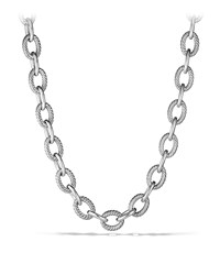 Oval Extra Large Link Necklace David Yurman Red