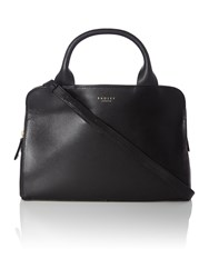 Radley Milbank Black Medium Tote Cross Body Bag Black
