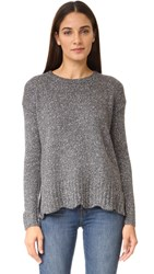Velvet Barabell Sweater Grey