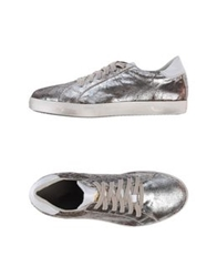 Primabase Low Tops And Trainers Silver