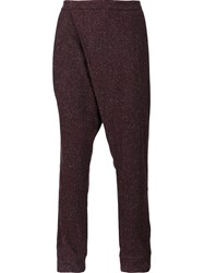 Strateas Carlucci 'Crossover' Trousers Pink And Purple